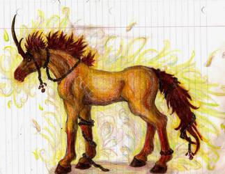 Pony is burning to death. by XxTheLostxX