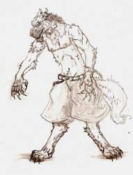 wolf dude... by XxTheLostxX