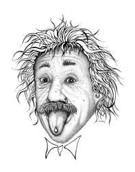 Einstein by scharf