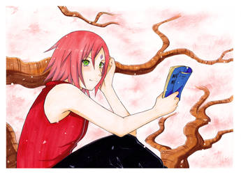 Cherry Blossom by Hallsth-Eien
