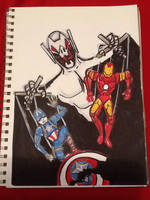 Ultron: I Have No Strings On Me by JokerHarley2345