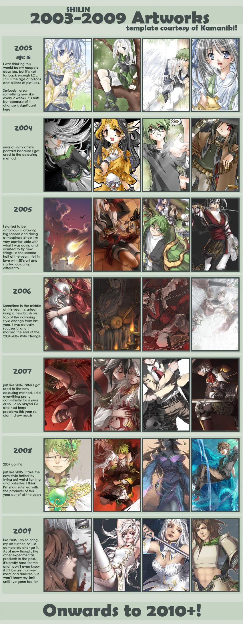 2003-2009 art meme by shilin