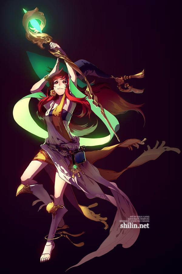 Sorceress by shilin