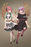 Liliahn and Weirin by shilin