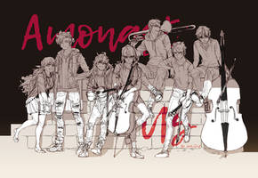 AU lineup by shilin