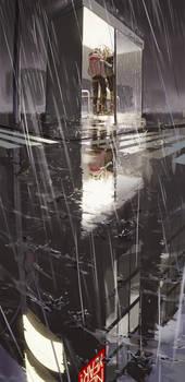 Rain by shilin