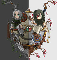 Ashen Ray Layout - 2nd Version by shilin