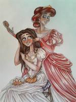 My favorite Disney girls by Daydreama