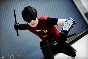 Young Justice Robin by BOiKEM
