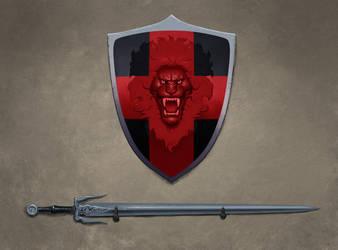 Sword and shield by setvasai