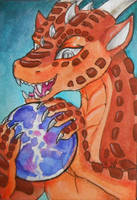 ACEO for Rait by TiamatART