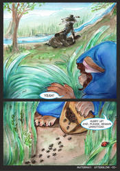 Waterway Afterglow pg. 10. by TiamatART