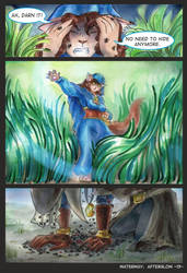 Waterway Afterglow pg. 13. by TiamatART