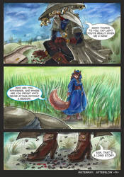 Waterway Afterglow pg. 14. by TiamatART