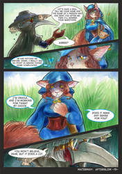 Waterway Afterglow pg. 15. by TiamatART