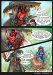 Waterway Afterglow pg. 17. by TiamatART