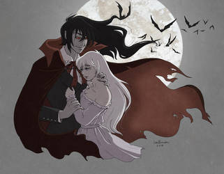 Lady Amalthea and the Count by littleFernanda