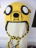 Jake the Dog hat by vi0lentvicky