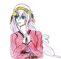 Zeichnung 18 - Harmonia - Zashi by Luna-Lotus