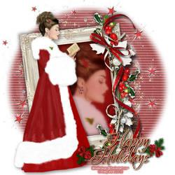 Christmaslady by 13Chrissy12