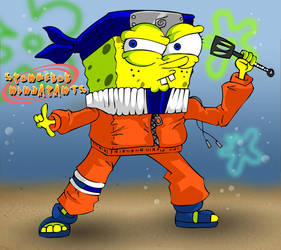 Spongebob Ninjapants by willgreg123