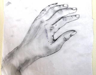 Study: My hand by ElenisVAD