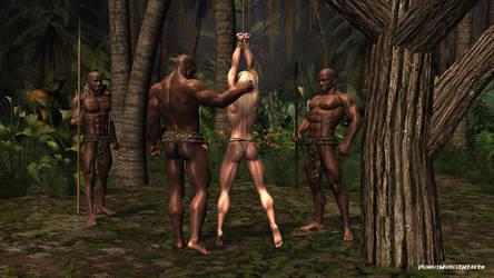 Jungle Girl Captured by plinius