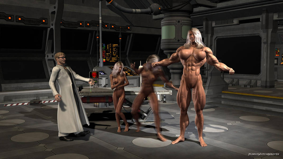 Muscle Growth: The Ultimate Woman by plinius