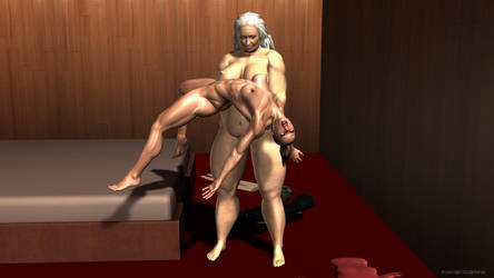 Agent Isabel: Muscle Girl Defeated by plinius