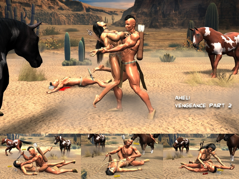 Aheli, The Apache Girl - Vengeance Part 2 by plinius