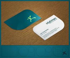 Intelimen Businesscard by Pedrolifero