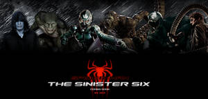 [POSTER] The Sinister Six / Fan Made #1 by WibblySpidey