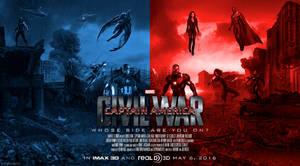 Captain America: Civil War (Poster #1) by WibblySpidey