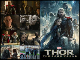 Thor - The Dark World Poster by Sharkypan87