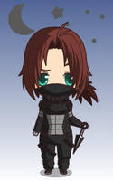 Chibi Winter Soldier by Sharkypan87