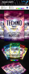 Techno Flyer by juandiazpro