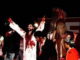 Zombie Jesus and Executioner by NatanaelBram