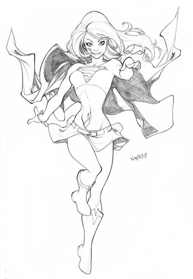 Super Girl by CarlosGomezArtist