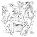 Nema GF stylish buddies by CarlosGomezArtist