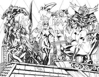 City of Heroes Commission 3 by CarlosGomezArtist