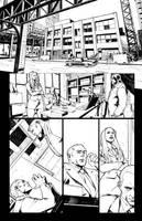Jim Butcher's DRESDEN FILES: DOWN TOWN #2 page 8 by CarlosGomezArtist