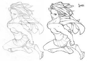 Supergirl by CarlosGomezArtist