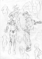 Fast sketchs by CarlosGomezArtist