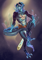 Adoptable Auction: Ice Demon [CLOSED] by Orsob