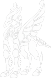 Pegasus Cloth Vector/Flat by Topitoomay
