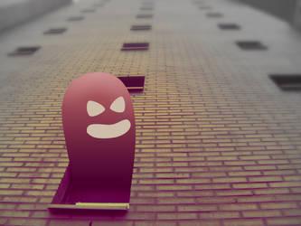 Evil Larry by PascalPixel