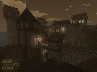 DLS~Rennister Castle by LeRochelle
