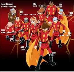 The Cyborgs by ajjkmon