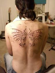 web wings inked by darkratkingx