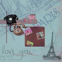 Texture Paris by camiluchiiz